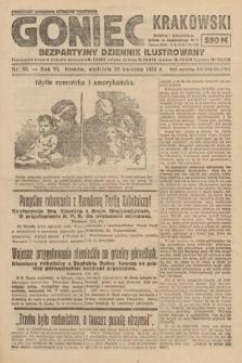 Goniec Krakowski : bezpartyjny dziennik popularny. 1923, nr83