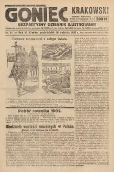 Goniec Krakowski : bezpartyjny dziennik popularny. 1923, nr91