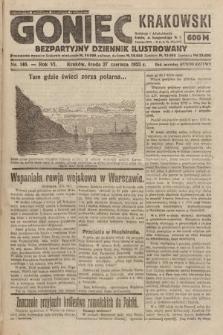 Goniec Krakowski : bezpartyjny dziennik popularny. 1923, nr146