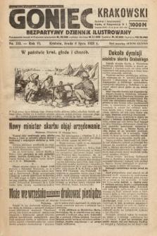 Goniec Krakowski : bezpartyjny dziennik popularny. 1923, nr153