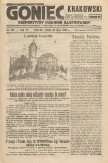Goniec Krakowski : bezpartyjny dziennik popularny. 1923, nr163