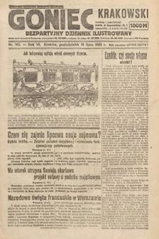 Goniec Krakowski : bezpartyjny dziennik popularny. 1923, nr165