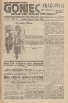 Goniec Krakowski : bezpartyjny dziennik popularny. 1923, nr178