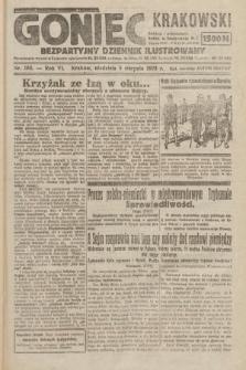 Goniec Krakowski : bezpartyjny dziennik popularny. 1923, nr183