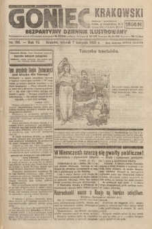 Goniec Krakowski : bezpartyjny dziennik popularny. 1923, nr185