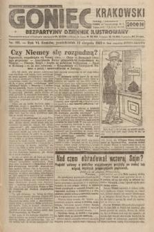 Goniec Krakowski : bezpartyjny dziennik popularny. 1923, nr191