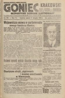 Goniec Krakowski : bezpartyjny dziennik popularny. 1923, nr195
