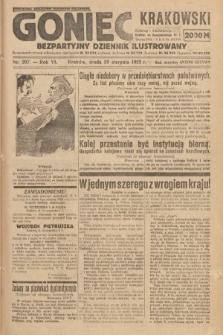 Goniec Krakowski : bezpartyjny dziennik popularny. 1923, nr207