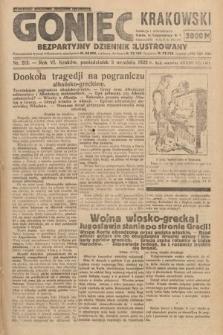 Goniec Krakowski : bezpartyjny dziennik popularny. 1923, nr212