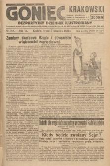 Goniec Krakowski : bezpartyjny dziennik popularny. 1923, nr214