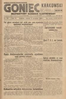 Goniec Krakowski : bezpartyjny dziennik popularny. 1923, nr219