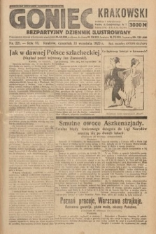 Goniec Krakowski : bezpartyjny dziennik popularny. 1923, nr221