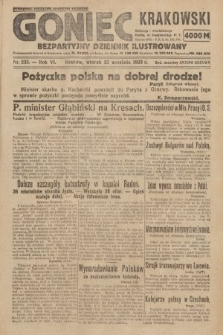 Goniec Krakowski : bezpartyjny dziennik popularny. 1923, nr233