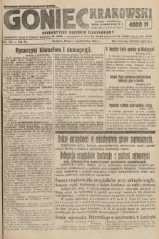 Goniec Krakowski : bezpartyjny dziennik popularny. 1923, nr243