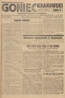 Goniec Krakowski : bezpartyjny dziennik popularny. 1923, nr258
