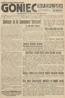 Goniec Krakowski : bezpartyjny dziennik popularny. 1923, nr268