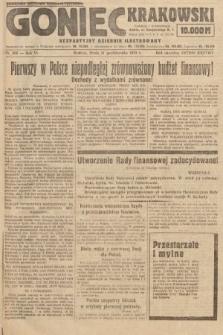 Goniec Krakowski : bezpartyjny dziennik popularny. 1923, nr269