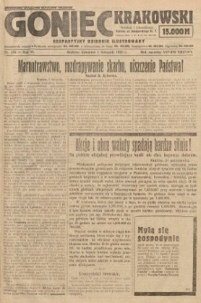 Goniec Krakowski : bezpartyjny dziennik popularny. 1923, nr270