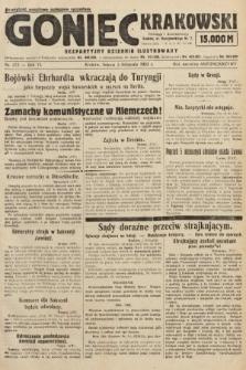 Goniec Krakowski : bezpartyjny dziennik popularny. 1923, nr272