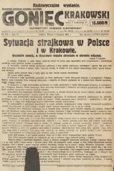 Goniec Krakowski : bezpartyjny dziennik popularny. 1923, nr276