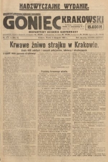 Goniec Krakowski : bezpartyjny dziennik popularny. 1923, nr277