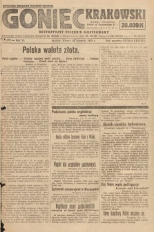 Goniec Krakowski : bezpartyjny dziennik popularny. 1923, nr293