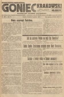 Goniec Krakowski : bezpartyjny dziennik popularny. 1923, nr300