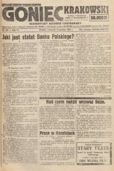 Goniec Krakowski : bezpartyjny dziennik popularny. 1923, nr305