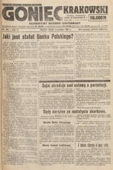 Goniec Krakowski : bezpartyjny dziennik popularny. 1923, nr306