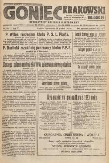 Goniec Krakowski : bezpartyjny dziennik popularny. 1923, nr315