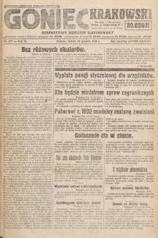 Goniec Krakowski : bezpartyjny dziennik popularny. 1923, nr317