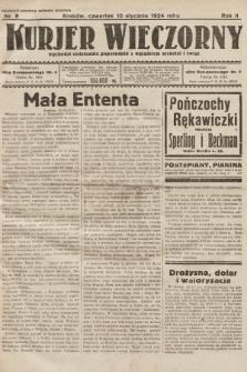 Kurjer Wieczorny : poświęcony sprawom ekonomicznym, giełdowym i politycznym. 1924, nr8