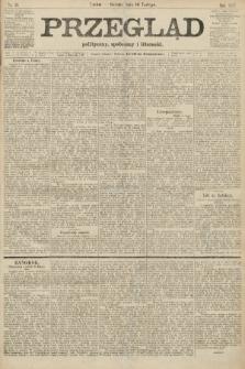 Przegląd polityczny, społeczny i literacki. 1907, nr39