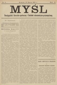 Myśl. 1892, nr 6