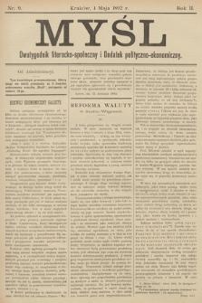 Myśl. 1892, nr 9