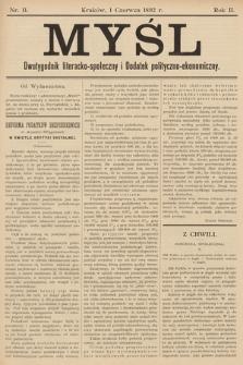 Myśl. 1892, nr 11