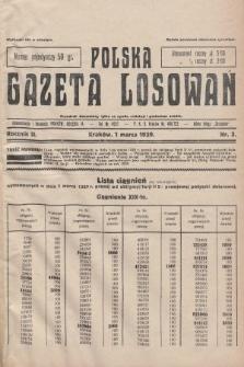 Polska Gazeta Losowań. 1929, nr3