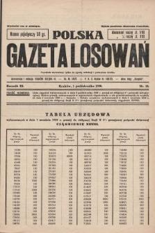 Polska Gazeta Losowań. 1930, nr10