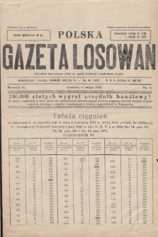 Polska Gazeta Losowań. 1931, nr4