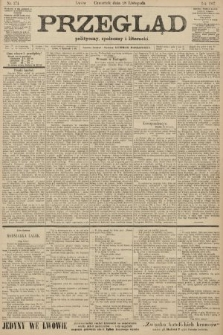 Przegląd polityczny, społeczny i literacki. 1907, nr274
