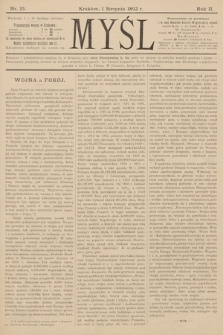 Myśl. 1892, nr 15