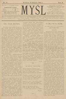 Myśl. 1892, nr 16