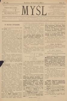 Myśl. 1892, nr 24