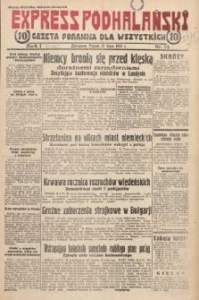 Express Podhalański : gazeta poranna dla wszystkich. 1931, nr13