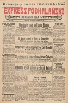 Express Podhalański : gazeta poranna dla wszystkich. 1931, nr15