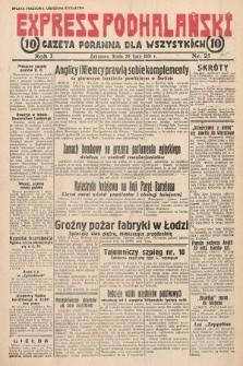 Express Podhalański : gazeta poranna dla wszystkich. 1931, nr25