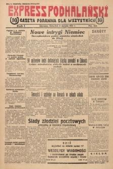 Express Podhalański : gazeta poranna dla wszystkich. 1931, nr33