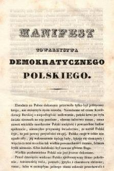 Manifest Towarzystwa Demokratycznego Polskiego