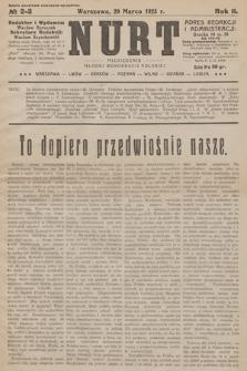 Nurt : miesięcznik Młodej Demokracji Polskiej. 1925, nr 2-3