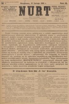 Nurt : dwutygodnik Młodej Demokracji Polskiej. 1926, nr 4